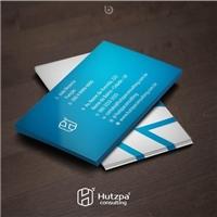 Hutzpa Consulting, Logo e Identidade, Consultoria de Negócios