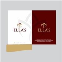 ELLA'S INSTITUTO MEDICO DA MULHER, Logo e Identidade, Saúde & Nutrição