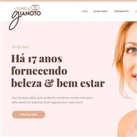 Clínica Gianoto , Web e Digital, Beleza