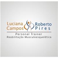 Roberto Pires e Luciana Campos Personal Trainer Reabilitação músculo esquelético , Logo e Identidade, Saúde & Nutrição
