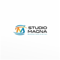 StudioMagna Marketing Digital, Logo e Identidade, Marketing & Comunicação