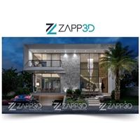 Zapp3D, Logo e Identidade, Arquitetura