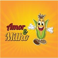 Amor & Milho Alimentos Ltda., Logo e Identidade, Alimentos & Bebidas