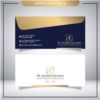 Dr. Antonio Coutinho - Clínica Médica e Hematologia, Logo e Identidade, Saúde & Nutrição