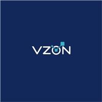 VZON (pronuncia-se vision = visão em ingles), Logo e Identidade, Tecnologia & Ciencias