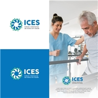Instituto Catarinense de Ensino em Saúde - ICES, Logo e Identidade, Educação & Cursos