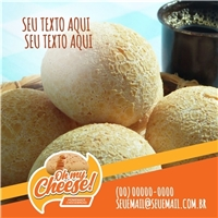 OH MY CHEESE! Homemade Cheesebread, Web e Digital, Alimentos & Bebidas