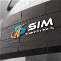 Sim transportes e logística eireli, Logo e Identidade, Logística, Entrega & Armazenamento