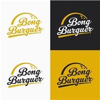 Bong Burguer, Logo e Identidade, Alimentos & Bebidas