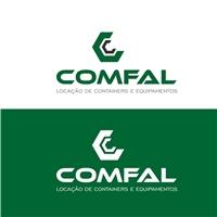 COMFAL Locação de Máquinas e Equipamentos, Logo e Identidade, Construção & Engenharia