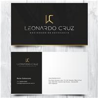 Leonardo Cruz - Sociedade de Advocacia, Logo e Identidade, Advocacia e Direito
