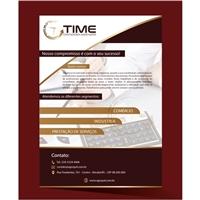 Time Contadores Associados Ltda, Peças Gráficas e Publicidade, Contabilidade & Finanças
