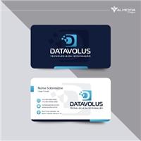 Datavolus Tecnologia da Informação Ltda, Logo e Identidade, Tecnologia & Ciencias