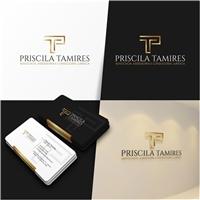 Priscila Tamires Advocacia, Assessoria e Consultoria Jurídica, Logo e Identidade, Advocacia e Direito