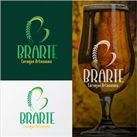 BRARTE Cervejas Artesanais, Logo e Identidade, Alimentos & Bebidas