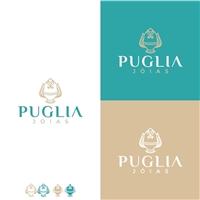 Puglia Jóias, Logo e Identidade, Roupas, Jóias & acessórios