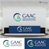 Grupo de Anestesistas Associados de Colatina - GAAC, Logo e Identidade, Saúde & Nutrição