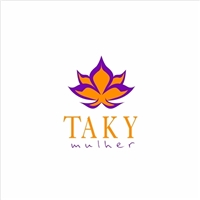 Taki Beleza e Cosméticos e nome fantasia: Taky Mulher, Logo e Identidade, Beleza