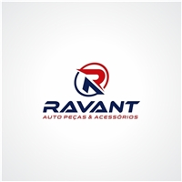 Ravant Auto Peças & Acessórios, Logo e Identidade, Automotivo
