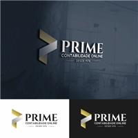 PRIME CONTABILIDADE ONLINE, Logo e Identidade, Contabilidade & Finanças