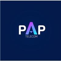 PAP Telecom / Serviços Fibra e alta velocidade, Logo e Identidade, Tecnologia & Ciencias