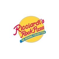 Ricciardi's Rock Pizza, Logo e Identidade, Alimentos & Bebidas