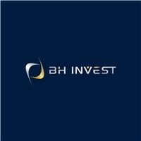 BH INVEST , Logo e Identidade, Consultoria de Negócios