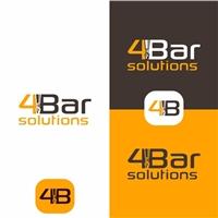 4 BAR SOLUTIONS, Logo e Identidade, Tecnologia & Ciencias