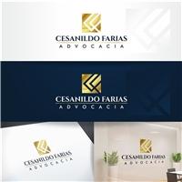 CESANILDO FARIAS ou CF ADVOCACIA (estou com dúvida; peço ajuda), Logo e Identidade, Advocacia e Direito