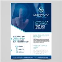 ASSINATURA VIRTUAL, Peças Gráficas e Publicidade, Tecnologia & Ciencias
