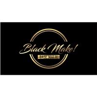 Black Make!Base facial., Logo e Identidade, Beleza