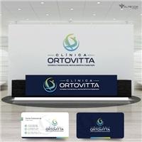 CLÍNICA ORTOVITTA-Ortopedia e Traumatologia, Medicina Esportiva e Reab, Logo e Identidade, Saúde & Nutrição