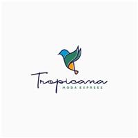 Tropicana - Moda Express, Logo e Identidade, Roupas, Jóias & acessórios