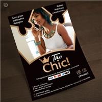 Tão Chic!, Peças Gráficas e Publicidade, Roupas, Jóias & acessórios