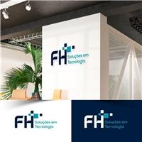 FH Soluções em Tecnologia, Logo e Identidade, Tecnologia & Ciencias