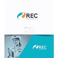 Rec Energia, Logo e Identidade, Construção & Engenharia