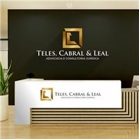 TELES, CABRAL & LEAL - ADVOCACIA E CONSULTORIA JURÍDICA, Logo e Identidade, Advocacia e Direito