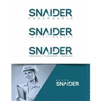 Snaider Engenharia , Logo e Identidade, Construção & Engenharia