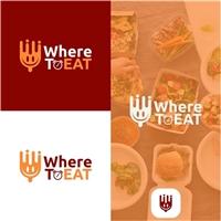 WhereToEAT, Logo e Identidade, Alimentos & Bebidas