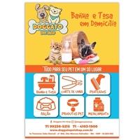 Doggato Pet Shop, Peças Gráficas e Publicidade, Pets