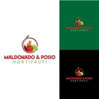 MALDONADO&POSSO HORTIFRUTI, Logo e Identidade, Ambiental & Natureza
