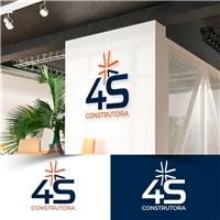 A4 CONSTRUTORA LTDA, Logo e Identidade, Construção & Engenharia