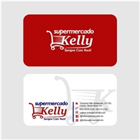 Kelly Supermercado, Logo e Identidade, Alimentos & Bebidas