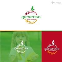 Comercio De Frutas Orgânicas Generoso, Logo e Identidade, Alimentos & Bebidas