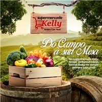 Kelly Supermercado, Web e Digital, Alimentos & Bebidas