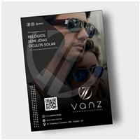 vanz -  slogan: viva com exclusividade., Peças Gráficas e Publicidade, Roupas, Jóias & acessórios