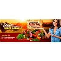 Kelly Supermercado, Marketing Digital, Alimentos & Bebidas