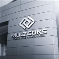 MULTCONS , Logo e Identidade, Consultoria de Negócios