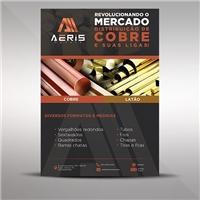 AERIS METAIS, Peças Gráficas e Publicidade, Metal & Energia