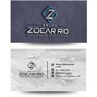 GRUPO ZOCAR RIO , Logo e Identidade, Construção & Engenharia